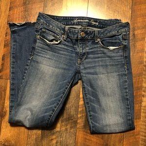 American Eagle skinny jeans 6 AE